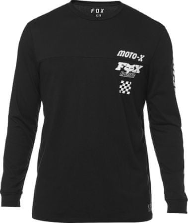 FOX T-shirt męski Traktion Knit M czarny