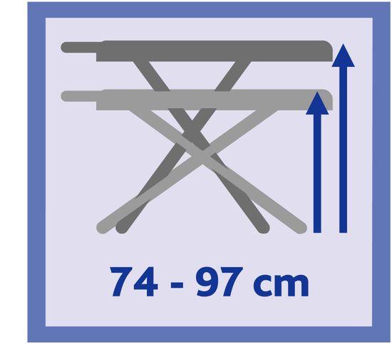 Vileda Total Reflect Plus žehlicí prkno 130 x 44 cm