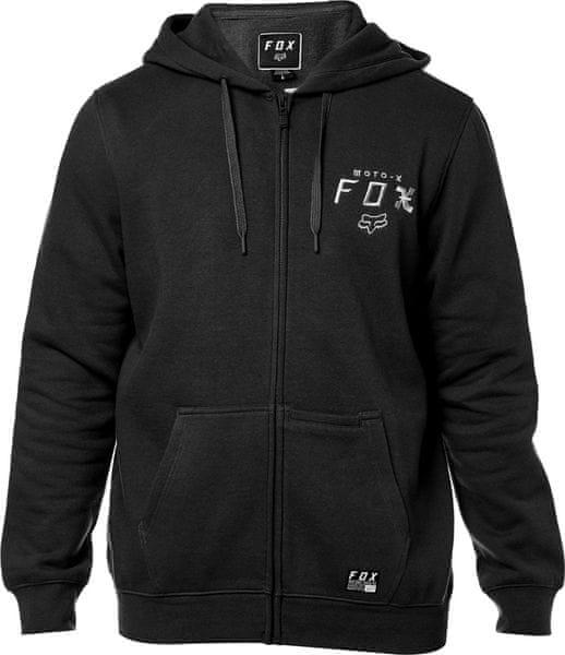 FOX pánská mikina Darkside Zip L černá a3ae981f250