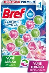 Bref Perfume Switch Apple-Water Lily, 3x 50 g