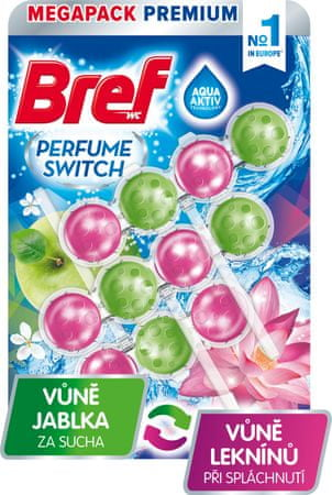 Bref Perfume Switch Apple-Water Lily 3x 50 g