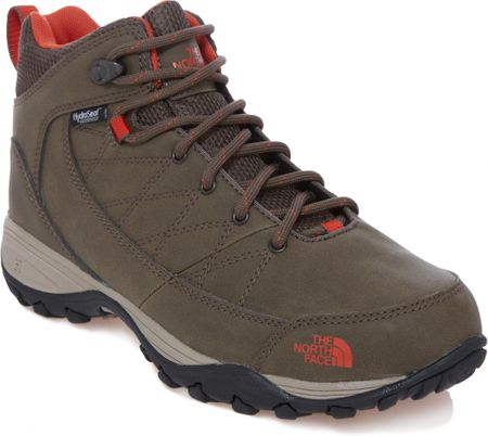 The North Face Women'S Storm Strike Wp Weimaraner Brown/Zion Orange 38