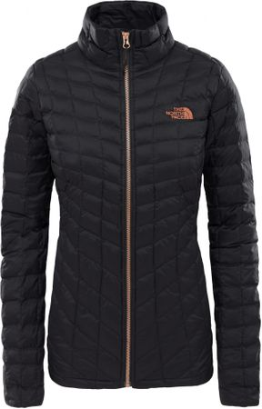 női kabát Women S Thermoball Full Zip Jacket TNF Black Metallic Copper S f6464b6161
