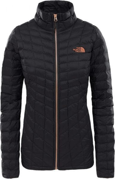 The North Face Women'S Thermoball™ Full Zip Jacket TNF Black/Metallic Copper M