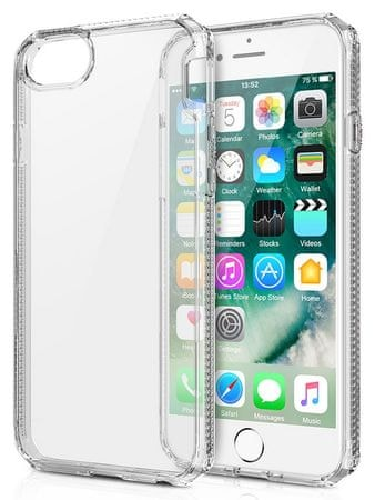 Mobiltelefon-tok ITSKINS Hybrid 2m Drop iPhone 6/6S/7/8, Clear AP67-HBRID-TRSP