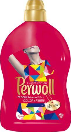 Perwoll pralni gel Renew Advanced Effect Color, 2,7 l, 45 pranj