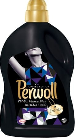 Perwoll pralni gel Renew Advanced Effect Black, 2,7 l, 45 pranj