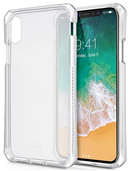 ITSKINS Spectrum gel 2m Drop iPhone X, Clear APHX-SPECM-TRSP