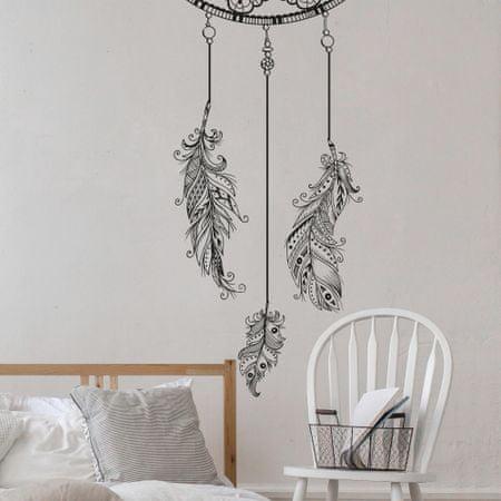 Crearreda dekorativna stenska nalepka Lovilec sanj, XL