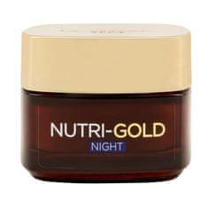 L'Oréal nočna krema za zelo suho kožo Nutri-Gold Ultimate Nutrition, 50 ml