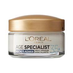 Loreal Paris vlažilna nočna krema proti gubam Age Specialist Anti-wrinkle 35+, 50 ml