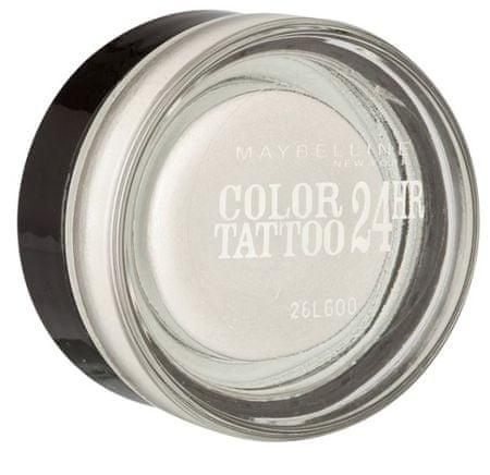 Maybelline senčilo za oči Color Tatoo, 45 Infinite White