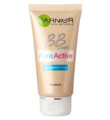 Garnier Skin Naturals Pure Active BB krema, Medium, 50 ml