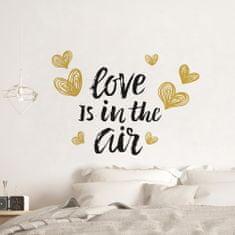 Crearreda dekorativna stenska nalepka Love is in the Air, L deluxe