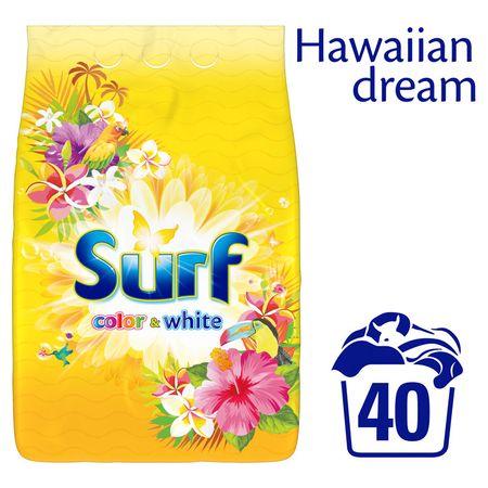Surf Hawiian Dream Colour&White mosópor 2,8 kg (40 mosás)