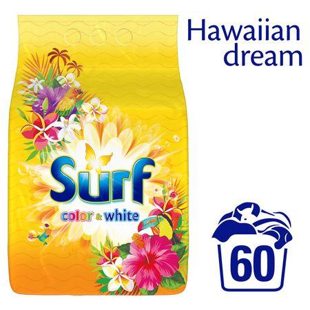 Surf prašek Colour&White Hawiian Dream, 3,9 kg (60 pranj)