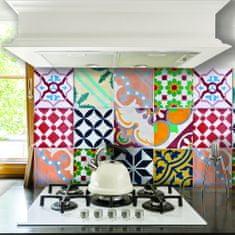 Crearreda dekorativna nalepka za ploščice, barvna L