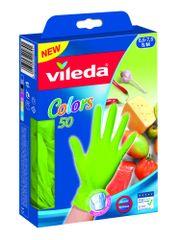 Vileda rokavice za enkratno uporabo MultiSensitive, M/L, 50/1, zelene