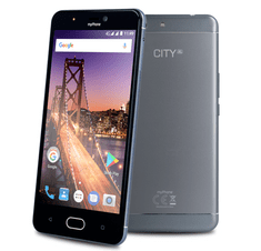 myPhone City XL, stříbrný