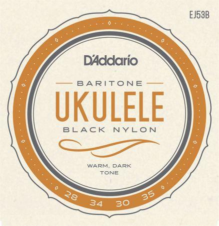 Daddario EJ53B Struny na barytónové ukulele