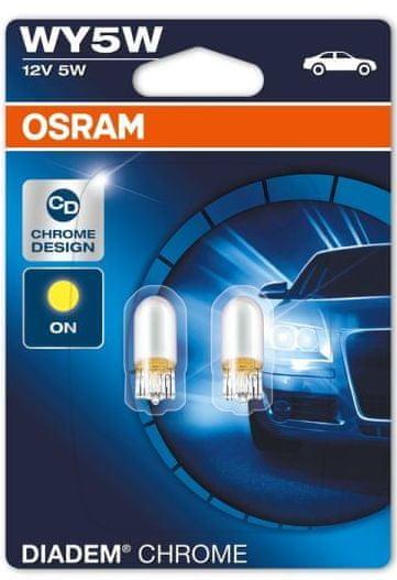 Osram Žárovka typ WY5W, 12V, 5W, Diadem Chrome