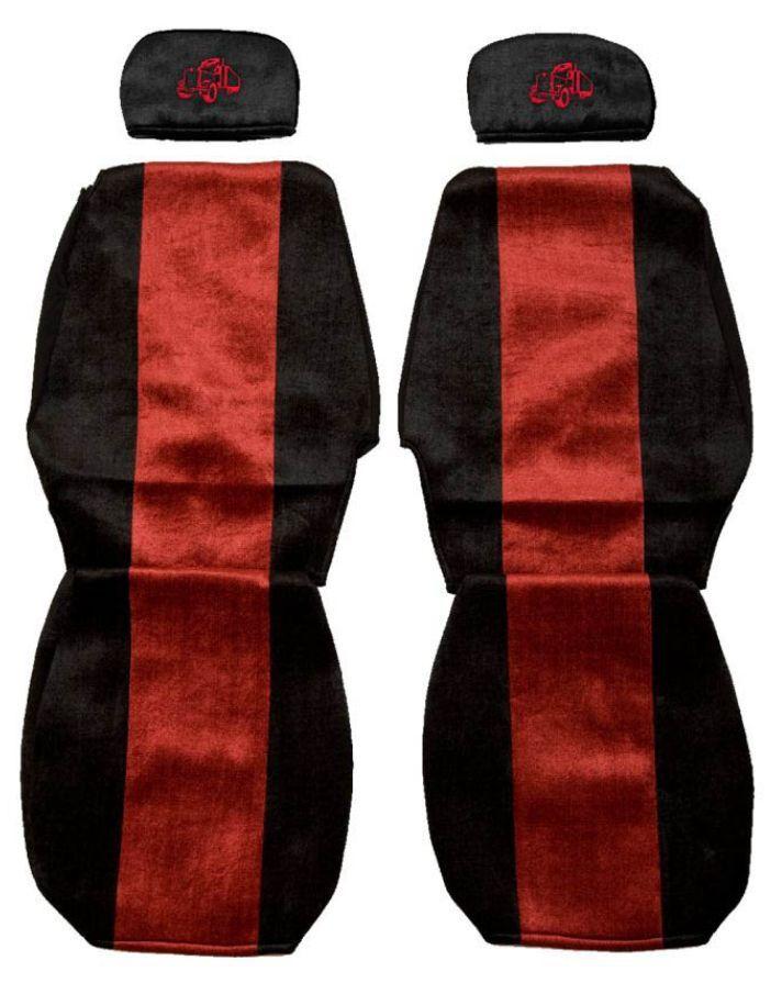 F-CORE Potahy na sedadla PS06, červené
