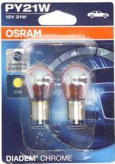 Osram Žiarovka typ PY21W, 12V, 21W, Diadem Chrome