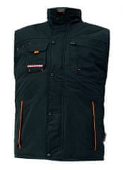 Emerton Zimná montérková vesta pánska čierna L
