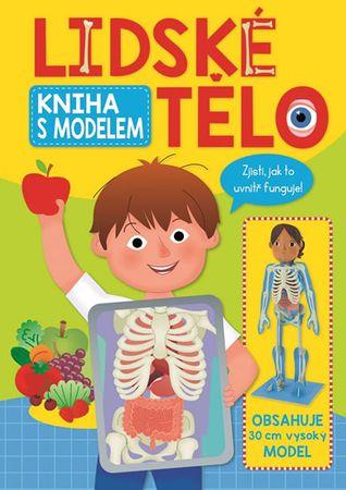 Lidské tělo - kniha s modelem