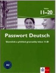 Albrecht U., Dane  D., Fandrych Ch.: Passwort Deutsch 11-20 - Slovníček a přehled gramatiky