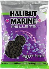 Bait-Tech pelety s dírkou halibut marine 14 mm 900 g