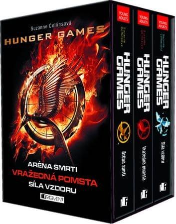 Collins Suzanne: Hunger Games - 3 knihy v dárkovém boxu