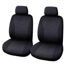 CarPoint prevleka za sedež vienna, 4-delna, črna