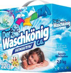 Waschkonig Sensitive prací prášek 2 kg (22 praní)