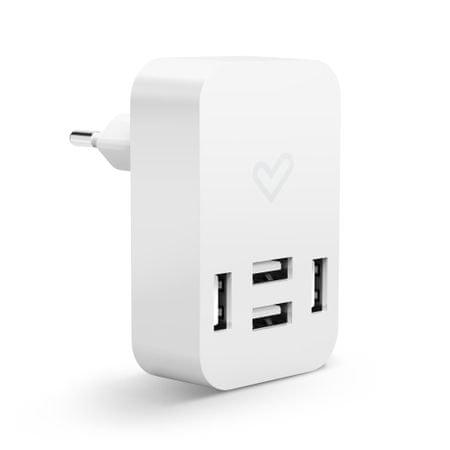 Energy Sistem Home Charger 4.0A Quad USB, Univerzálna domáca USB nabíjačka 444625