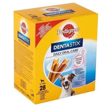 Pedigree žvečilne palčke za pse DentaStix, velikost S, 28 kosov