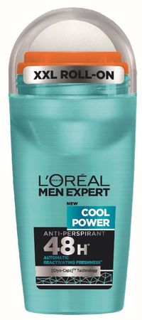 Loreal Paris deodorant Men Expert Cool Power Roll-on, 50 ml