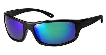 POLAROID sončna očala Sport PLD 7017/S, s sivo- zelenimi stekli