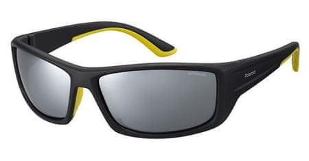 POLAROID sončna očala Sport PLD 7011/S, črno-rumena