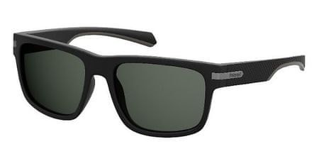 POLAROID sončna očala PLD 2066/S, črna, s sivimi stekli