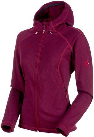 Mammut Runbold Ml Hooded Jacket Women Beet Melange XS