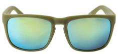Nugget unisex zelené sluneční brýle Spirit