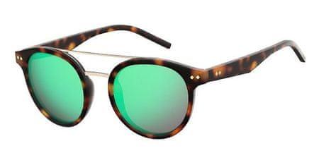 POLAROID sončna očala PLD 6031/S, havansko rjava, z modrimi stekli