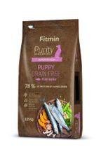 Fitmin pasja hrana Dog Purity GF Puppy Fish, riba, 12 kg