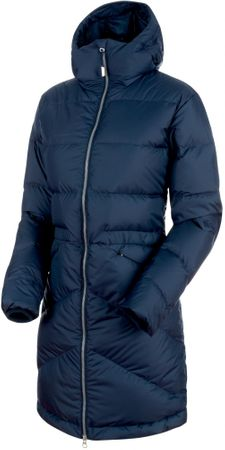 Mammut Fedoz In Hooded Parka Women Marine XS