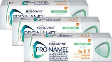 Sensodyne Zubní pasta Pronamel Každodenní ochrana 75 ml 3 ks