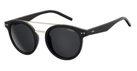 POLAROID sončna očala PLD 6031/S, črna, s sivimi stekli