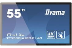 iiyama LED 4K UHD monitor ProLite TF5538UHSC-B1AG