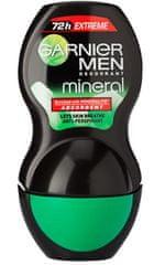 Garnier deodorant Mineral Men Extreme Roll-On, 50 ml