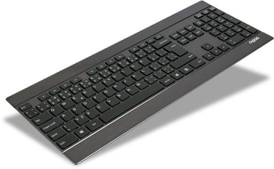 Rapoo klawiatura bezprzewodowa E9270p, czarna